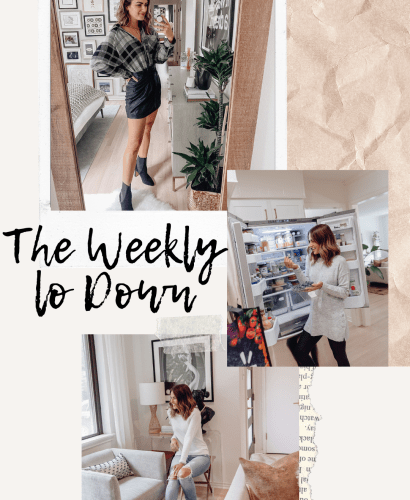 Sharing this week's edition of The Weekly Lo Down | 09.18.2020 featuring recent online finds, blog posts, weekend sales, discount codes, & more.