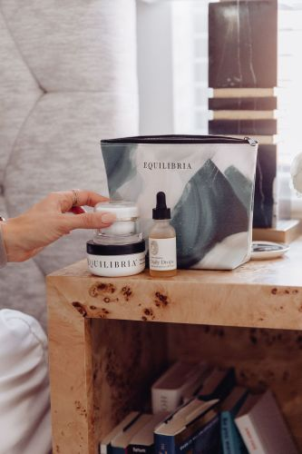 Sharing 12 ways to destress during the holidays & more about some of the Equilibria CBD products I take to help keep me calm.