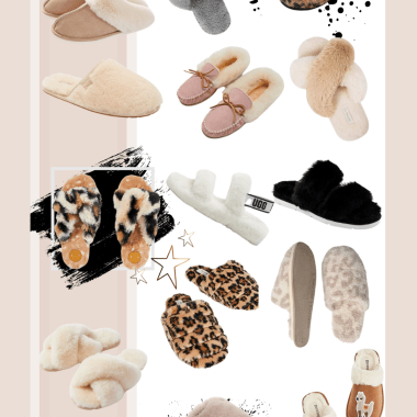 Sharing a roundup of cozy slippers I'm into featuring cute pairs in every price range & style to help you stay warm while working or lounging at home.