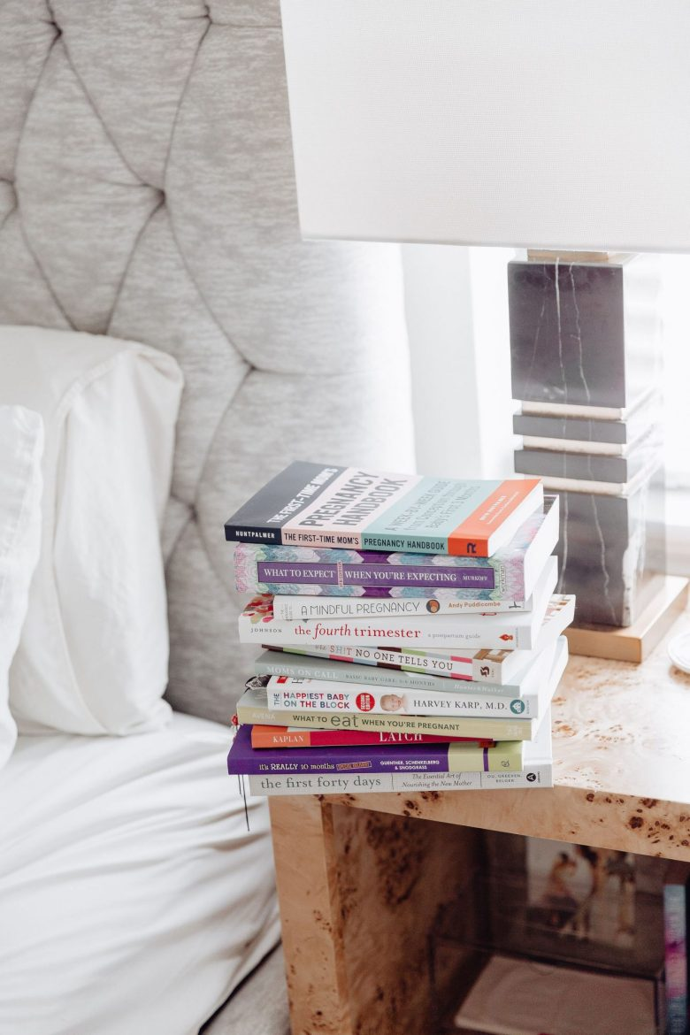 Sharing a roundup of books I read during pregnancy & which ones I'd recommend you take time to read & which ones I'd skip.