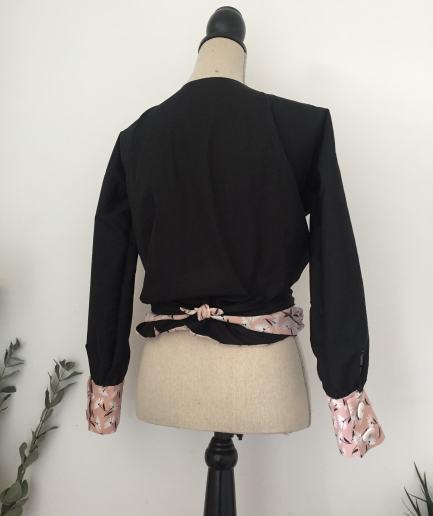Alory blouse réversible mode éthique lyon