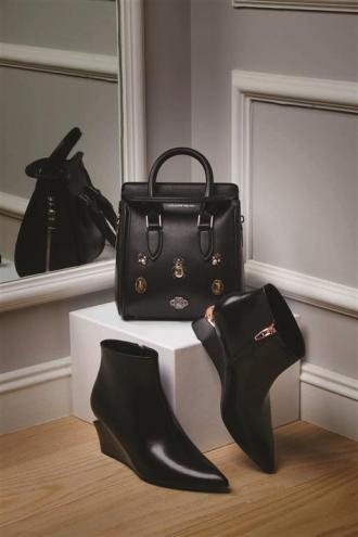 1- Alexander McQueen bag Thuraya Mall 2 - Alexander Wang shoes Al Ostoura Thuraya Mall, Al Ostoura The Avenues