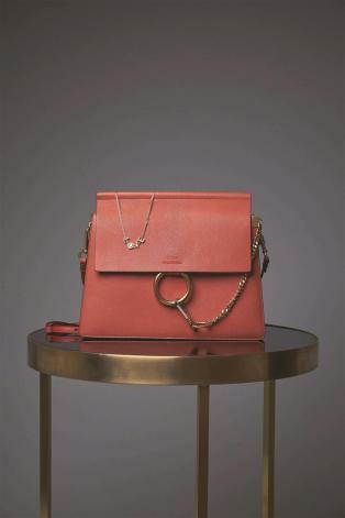 Bag:Chloe - Thuraya Mall, Al Ostoura Salhiya Complex Necklace: Chloe - Thuraya Mall