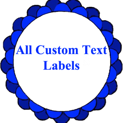 All Custom Text Labels