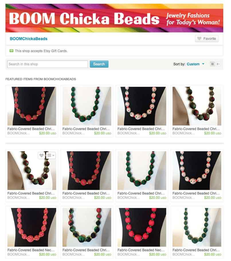BOOM Chicka Beads
