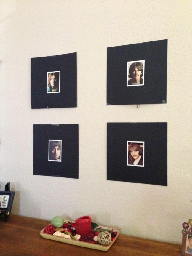 Beatles wall decor
