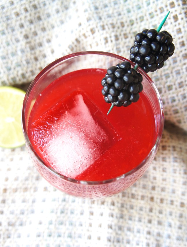 Blackberry Lime Mezcal