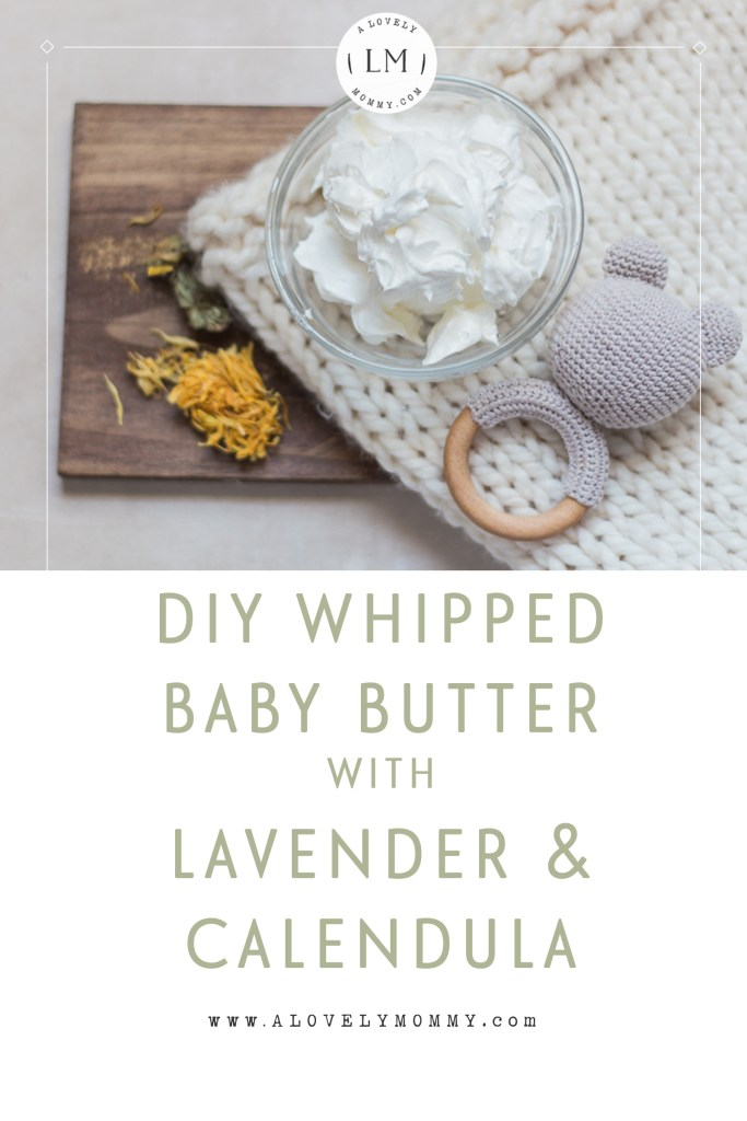 diy whipped baby body butter