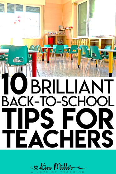 10 Brilliant Back to School Tips for Teachers