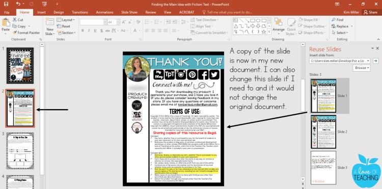 PowerPoint: Reusing Slides 5