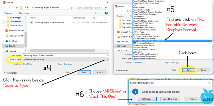 PowerPoint: Saving Slides As Images 2