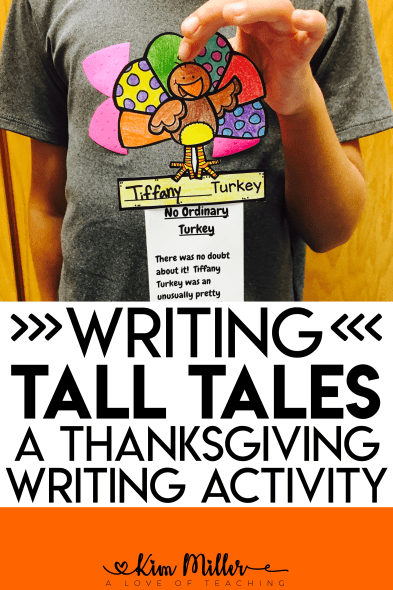Writing Turkey Tall Tales: A Thanksgiving Writing Activity