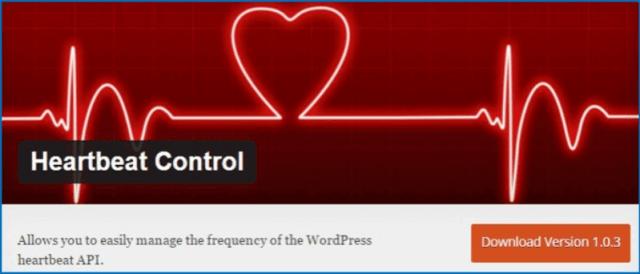 Kiểm soát sử dụng tài nguyên - WordPress Heartbeat Control