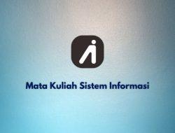 Mata Kuliah Sistem Informasi