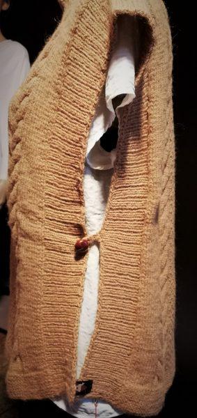 ärmelloser Lumber hellbraun