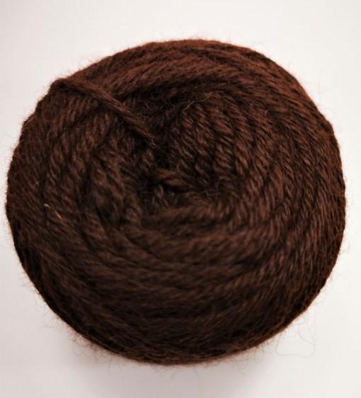 Alpakawolle dunkelbraun