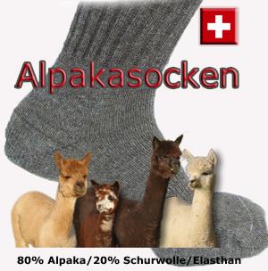 Alpakasocken