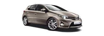 Rent Toyota Auris