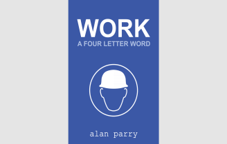 WORK Flat Facebook Image Template