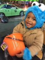The Cookie Monster loves his cookies