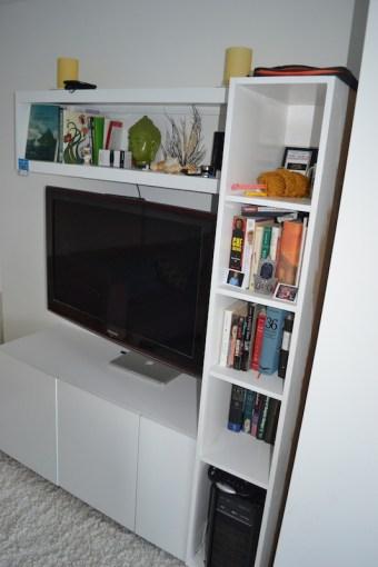 Custom TV Shelving