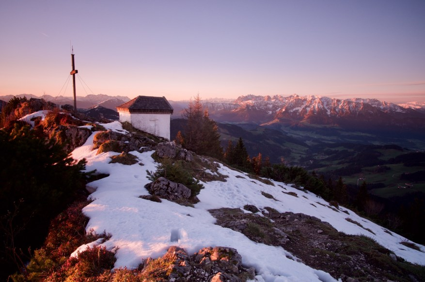 Spitzstein zum Sonnenaufgang ©Gipfelfieber.com