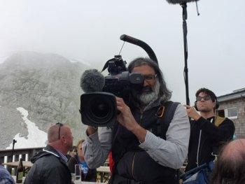 Servus-TV filmte das Leben auf der von-Schmidt-Zabierow-Hütte.