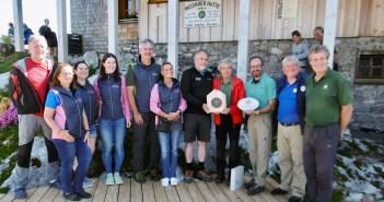 Passauer Hütte wurde für Umweltschutz ausgezeichnet