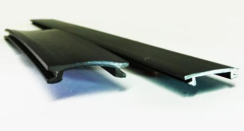 Tapa remate trapecio flexible y rígido