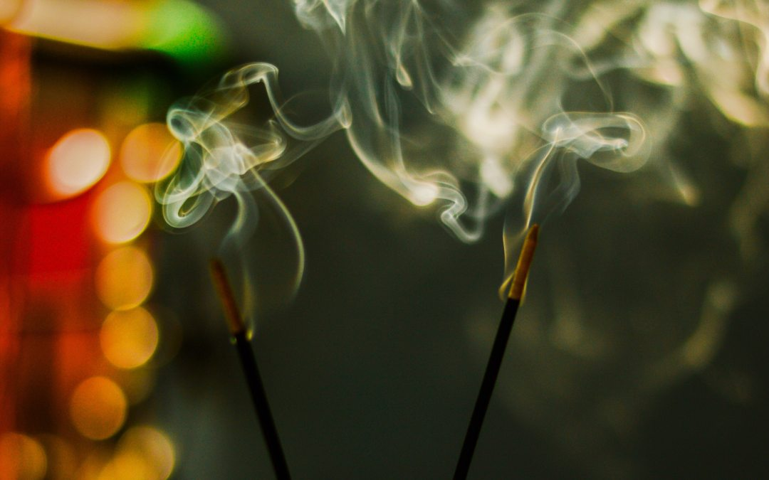 """""""A Cumulus of Incense"""" by Jenny Thai"""