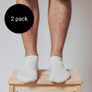 chaussettes basses en mérinos homme
