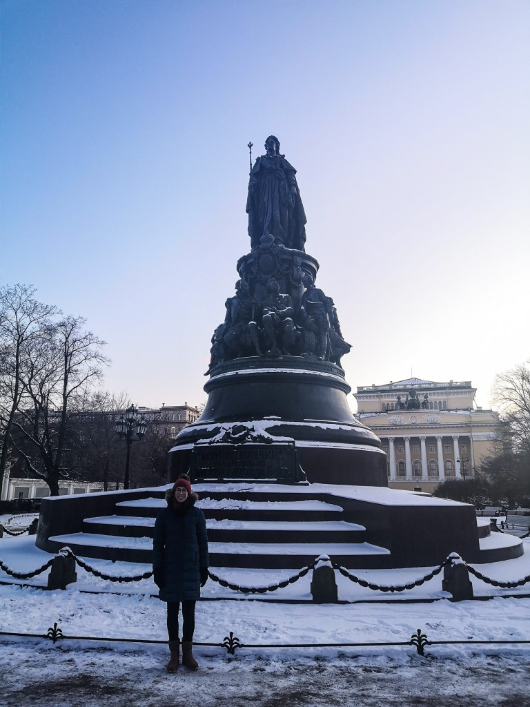 Top Things to do in Saint Petersburg Catherine the Great Monument