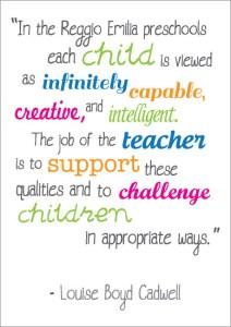 Reggio Emilia approach is an innovative approach to early years education - Alphablocks Nursery School, Totteridge