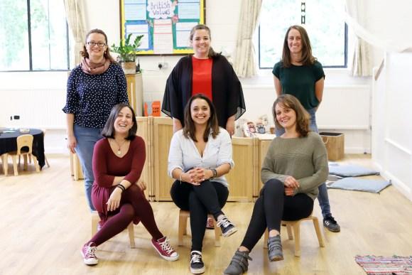 Alphablocks Nursery School Team Photo - September 2020