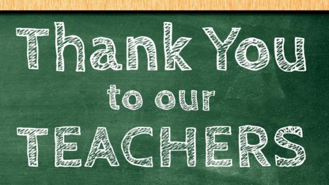 Teacher Appreciation Week 2018