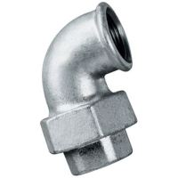 1.1/4″BSPP F/F Taperseat 90 Elbow Galv | FTM