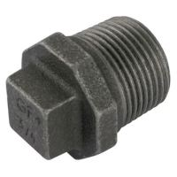1.1/2″BSPT Male Beaded Plug Black Gf290 | George Fischer