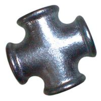 1.1/2″BSP Fem Equal Cross Black 180 | EE