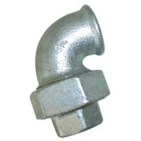 1.1/2″BSPP F/F Taperseat 90 Elb0W Galv   EE