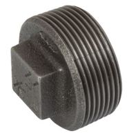 3/4 BSPT |  Hollow Plug | Black | K-Line