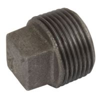 1/4 BSPT |  Solid Plug | Black | K-Line