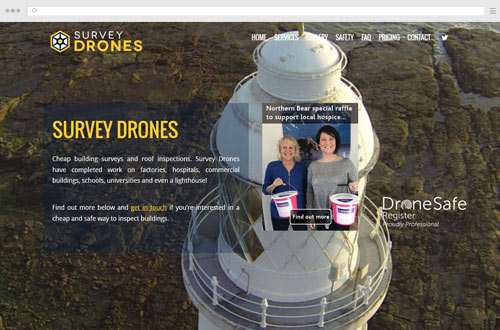 Survey Drones Website