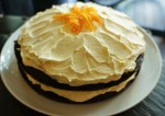 Chocolate Cake with Orange Buttercream, $40 (delivery within Singapore), $35 (self-collection)