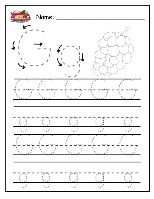 letter g activities preschool lesson plans