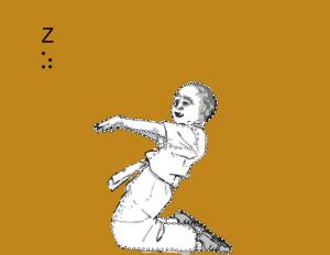 Letter Z Akiddo Font