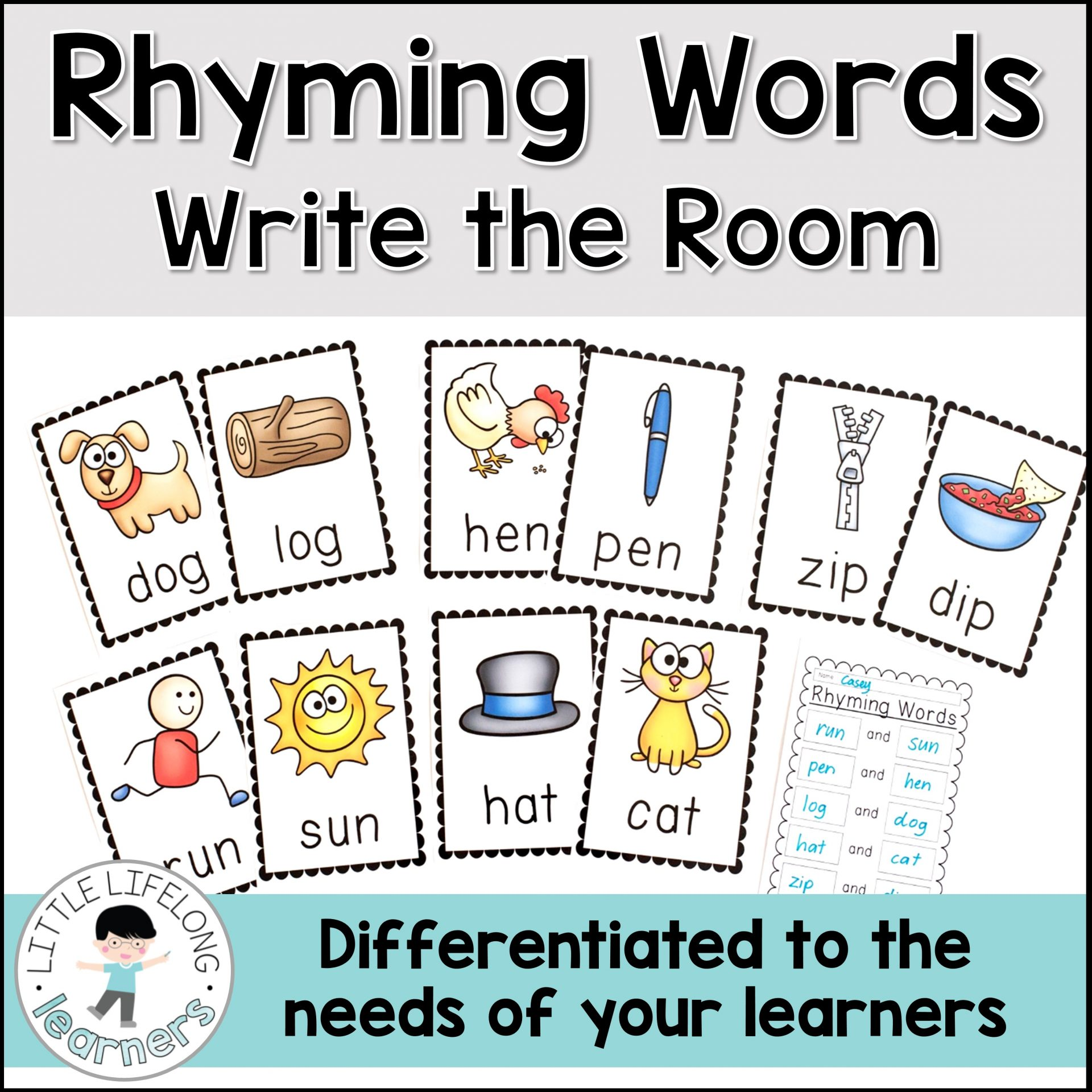 Rhyming Word Activity