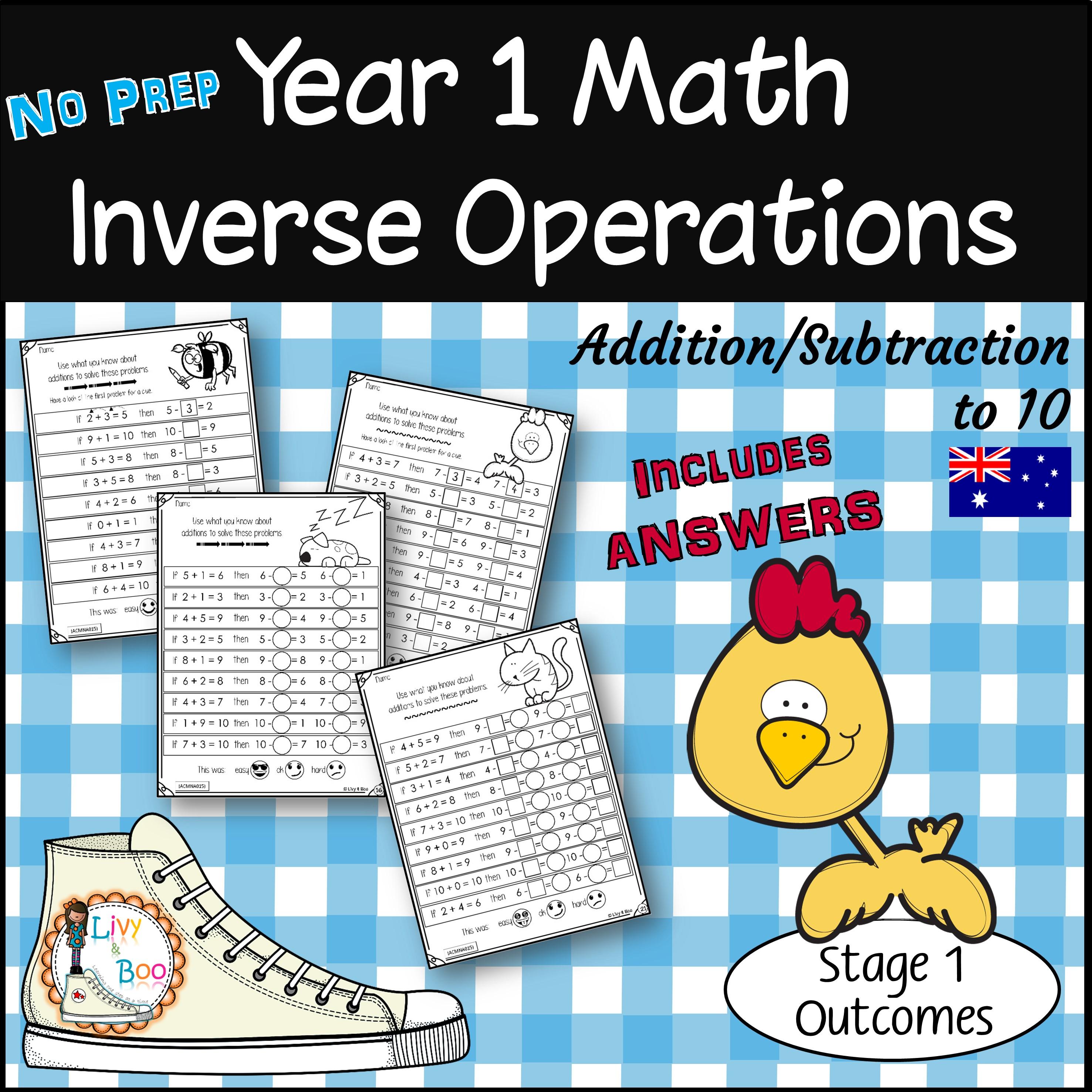 Year 1 Math