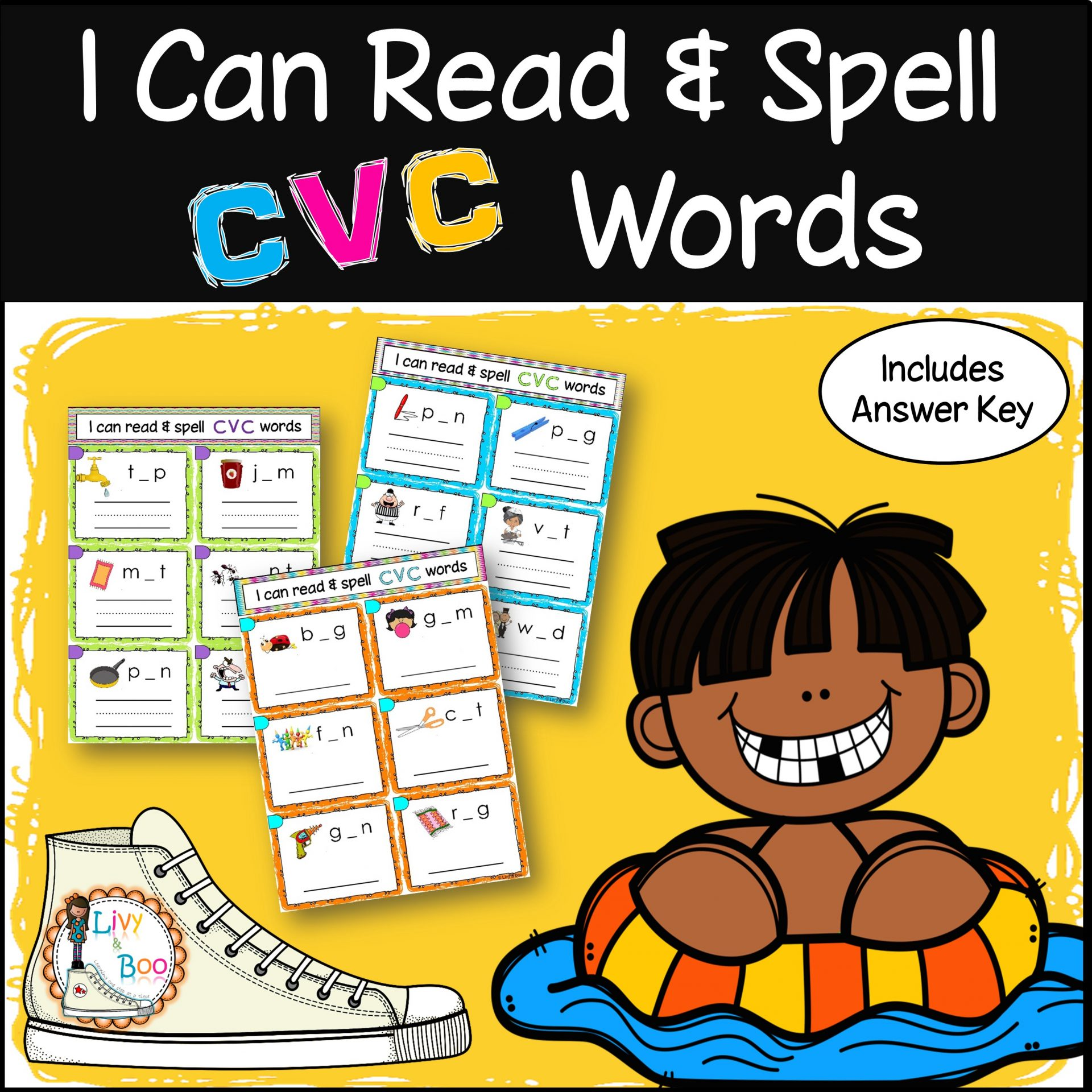 Teach Child How To Read Phonics Pictures And Word Cards