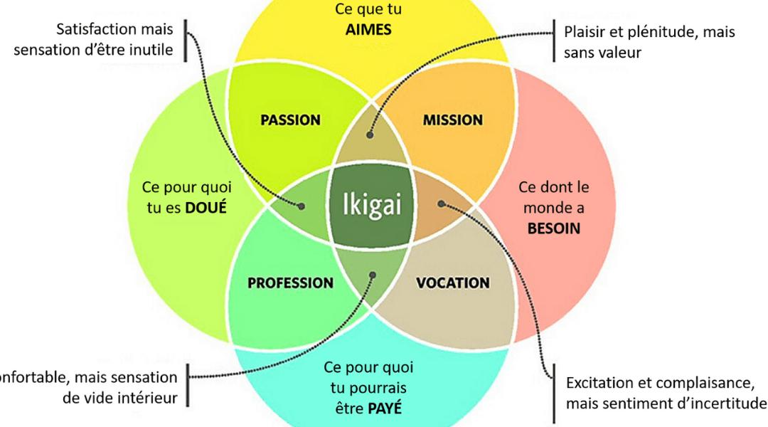 IKIGAI – Joie de vivre en japonais