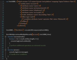 FetchXML Microsoft Dynamics CRM